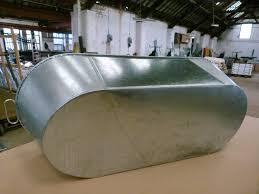 tin bath underside