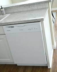 securing dishwasher to granite how installing samsung dishwasher under granite countertop secure bosch dishwasher granite