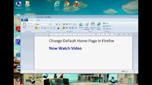 Firefox Change Default Home Page (Simple) - YouTube