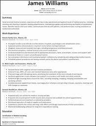 Certified Medical Assistant Resume Unique Medical Assistant Resume ...