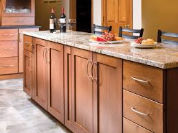 cabinet style. Appealing Shaker Style Kitchen Cabinets With Cherry Cabinet Doors Plain To \