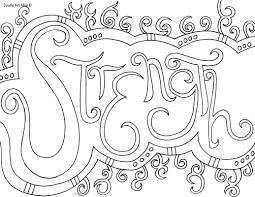 Word Coloring pages - Doodle Art Alley | Coloring | Pinterest ...