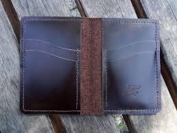 leather bifold vertical wallet brown crocodile pattern