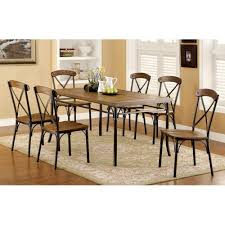used industrial furniture. Get Quotations · Furniture Of America Stilson Industrial 7 Piece Dining Table Set Used I