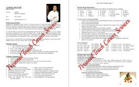 fast food cook resumes resume cook resume template