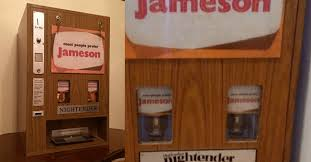 Antique Whiskey Vending Machine For Sale Impressive You Can Now Buy This Retro Irish Whiskey Vending Machine Nightender