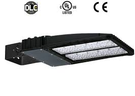 200 watt led area light day white outdoor parking lot lighting slim fixture
