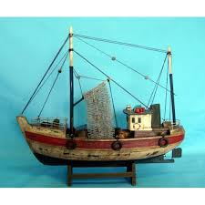 details about windmill fishing starter boat kit build your own wooden model ship fishing boat