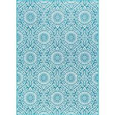 majesty teal 4 ft x 5 ft transitional area rug