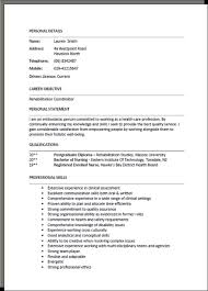 Resume Layout Example Unique Cv Format Examples Yelommyphonecompanyco