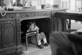 kennedy oval office. Caroline Kennedy Plays In Oval Office John F. With Jfk Desk  Kennedy Oval Office N