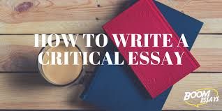 critical essay how to structure examples topics