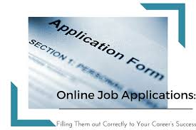 filling out applications online job applications filling them out correctly to your career s