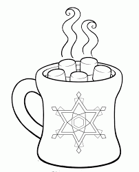 Small Picture Hot Chocolate Coloring Page Coloring Home