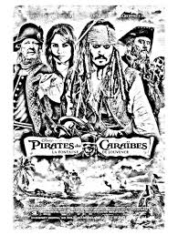 Coloriage Film Pirates Des Caraibes Cinema Pinterest Film