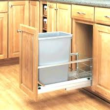 Under cabinet garbage can Stainless Steel Kitchen Trash Can Cabinets Under Sink Garbage Can Kitchen Trash Can Cabinet And Kitchen Trash Can Eadopresidentxexinfo Kitchen Trash Can Cabinets Heiterernsthaftbabyclub