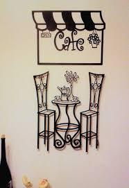 unthinkable cafe wall art metal sculpture bistro table pari history scene 3 d decor kitchen sticker on cafe wall artwork with unthinkable cafe wall art swirl coffee cup vinyl decal sticker