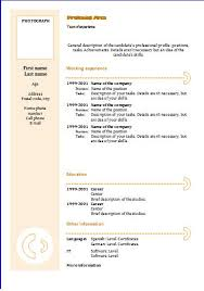 download - Chronological Resume Template Download