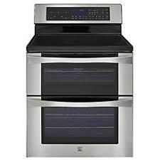 kenmore 95052. kenmore elite 96043 6.7 cu. ft. double oven electric range w/true convection 95052