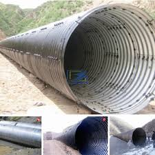 hot galvanized corrugated steel culvert pipe to sudan