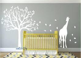 baby wall decals canada nursery wall decals tree wall stencil white tree  wall decals zoom wall