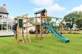 children garden. orchard climbing frame children garden