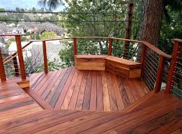 wood deck cost. Cost To Stain Deck With Benches How Much Will It Power Wash And . Wood
