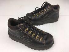 skechers platform sneakers 90s. 90s vintage brown grommet spice girls lug sole lace skechers platform shoes 6 sneakers
