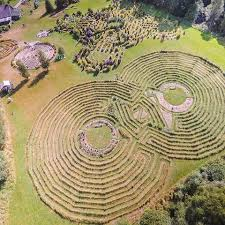 Lithuania's energetic labyrinth park in Plung'e