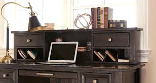 home office computer desk hutch. Home Office Desk With Hutch Furniture In Grayish Brown Computer .