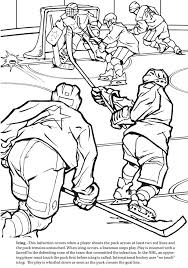 Small Picture GOAL The Hockey Coloring Book Dover Publications sports