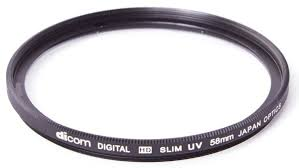 <b>Светофильтр Dicom</b> D-UVS58 <b>UV</b> Slim тонкооправный (58 мм)