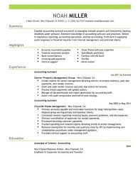 70 Outstanding Accounting Finance Resume Examples Templates From