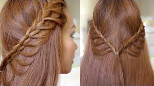 Hair Style Simple easy cascading braids hairstyle tutorial video dailymotion 8259 by wearticles.com