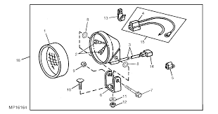 rear work light for my 855 john deere review page 1 john deere 855 pto wiring diagram at John Deere 855 Wiring Harness