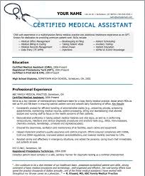 Medical Assistant Resume Template Free | Template Design