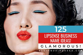 catchy lipsense business names ideas