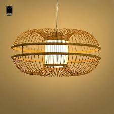 japanese pendant light bamboo wicker rattan bud pendant light fixture rustic modern hanging lamp re design japanese pendant light