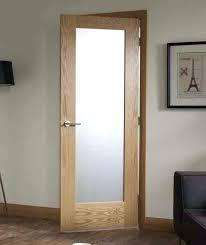 overwhelming interior door glass wood with frosted panel best photos image doors for bathrooms