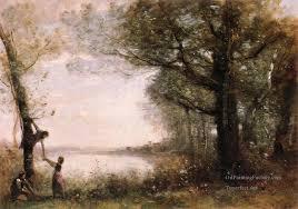 4 les pe denicheurs plein air landscape romanticism jean baptiste camille corot