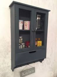 shabby chic wall cabinet drawers