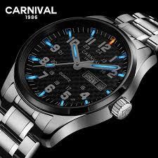 New Luxury <b>Watch</b> Top brand <b>CARNIVAL Switzerland</b> Quartz <b>Watch</b> ...