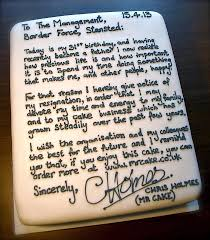 how to quit a job solution for how to for dummies have a cake resignation letter mediaite