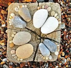 17 ideas for garden design stones are