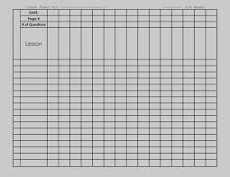 Best Of Blank Chart Template Free Printable Charts Image Search