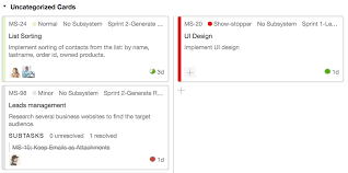 User Story Template Classy Agile Project Management Features YouTrack