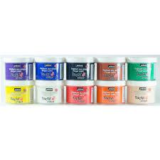 pebeo tactilcolor textile finger paint