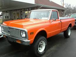 67-72 chevy truck, the epitome of classic cool, wagon wheels and ...