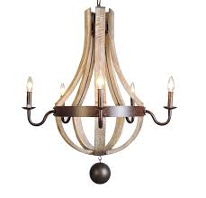 2018 vintage french country wood metal wine barrel chandelier pendant within french wooden chandelier gallery