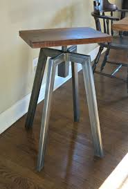 chic industrial furniture. Industrial Inspired Bar Stool Chic Furniture B
